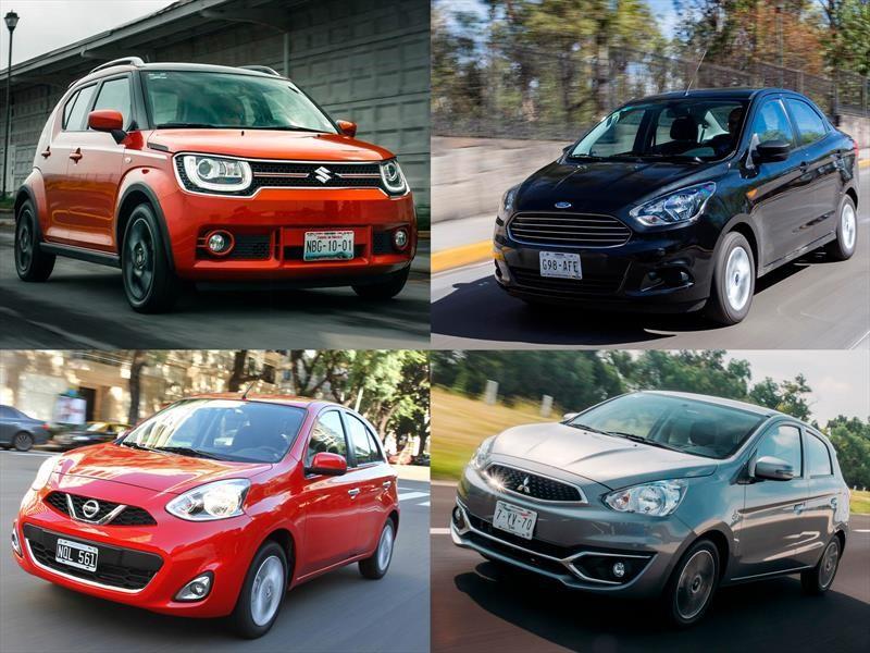 Los 10 autos más baratos en México